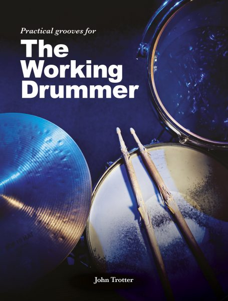 Cover image from instructional drum book, The Working Drummer, 537kb.